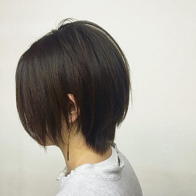 staff hair髪をばっさりショートに!