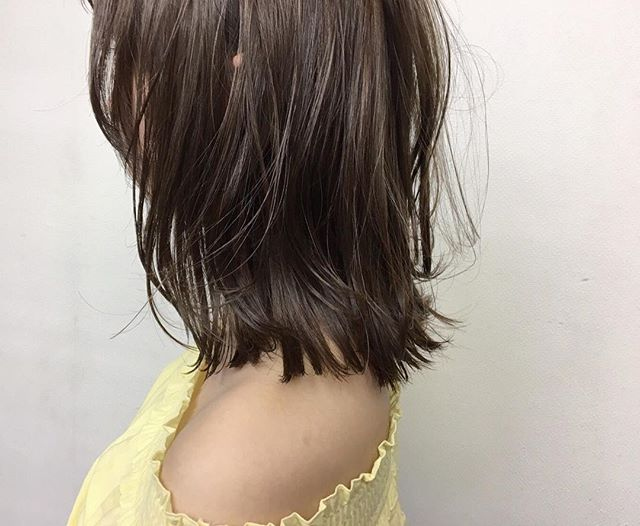 **人気のcolor#アプリエ*ミルクティーベージュ♡*ブリーチなしで明るく透明感のあるカラーにできます!手触りも◎**いつも違ったcolorでこの夏楽しみましょう♬***hair...chie@r.hair.chie**#r#rhair#福岡#薬院#福岡美容室#薬院美容室 #美容室#美容院#ヘアサロン#撮影#ヘアスタイル撮影#ヘアスタイル#ヘアカタログ #ミディアムヘア#ジョンマスターオーガニック#ジョンマスター#johnmastersorganics #ナチュラル#オーガニック#ファッション#fashion#ootd#instagood#instapic#vsco#vscocam#instagood#instahair