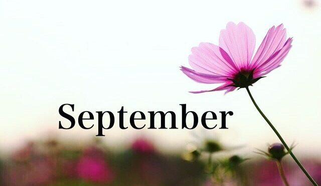 9月のスタッフの公休日をお知らせ