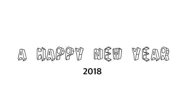 2018年もよろしくお願い致します