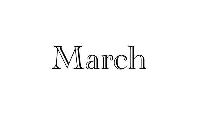 3月のスタッフのお休みのお知らせ