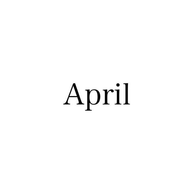 4月スタッフお休みをお知らせします