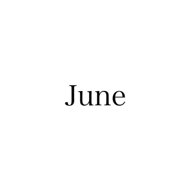 6月スタッフお休みをお知らせします