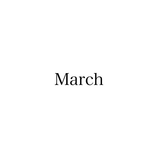 ..慌ただしく2月が終わり、3月になりました!卒業シーズンで何かと忙しくなる時期です。皆さまも体調管理にお気を付け下さい!.3月のスタッフのお休みをお知らせします♪.福田・18(水)大久保・10(火)11(火)小田・3(火)14(土)20(金)毎週日曜日曽田・12(木)31(火)城・13(金)24(火)…なお、毎週月曜日と第3火曜日(17日)は定休日になっておりますので、よろしくお願いします︎…#福岡美容室#薬院美容室#福岡#薬院#美容室#美容院#ヘアサロン#オーガニック#ナチュラル#organic#natural#ローランド#ジョンマスターオーガニック#johnmastersorganics#ユフォラ#ダヴィネス#エッセンシティ#instagood#instapic#3月#march#お休み#schedule