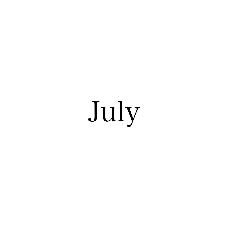 7月のスタッフのお休みをお知らせ