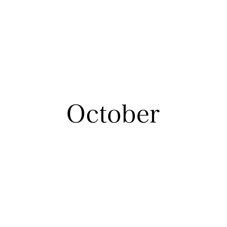 .朝晩は涼しく過ごしやすい気候になってきましたね!この時期は夏の疲れやダメージのリセットとしてヘッドスパやトリートメントのケアがおすすめです♪..10月のスタッフのお休みをお知らせします!..福田・毎週月曜日、1(木)20(火)大久保・毎週金曜日、8(木)15(木)27(火)小田・毎週日曜日、12(月)19(月)24(土)26(月)曽田・毎週水曜日、6(火)13(火)22(木)29(木)城・毎週火曜日、14(水)21(水)22(木)28(水)..